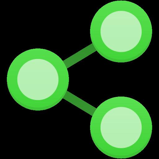 Share Icon Flatastic Iconset Custom Icon Design