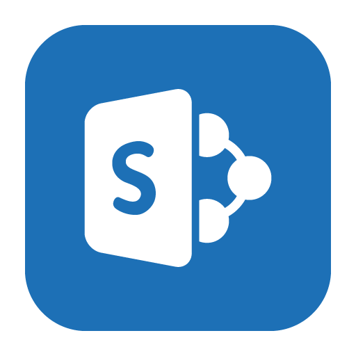 Sharepoint, Solid Icon