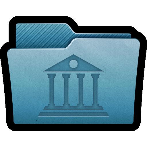 Archive, Data, Folder, Library, Mac Icon