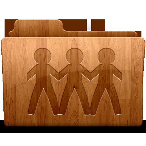 Glossy Sharepoint Icon Wood Folders Iconset Thvg