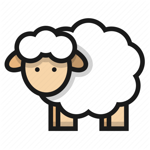 Animal, Cattle, Farm, Livestock, Sheep Icon