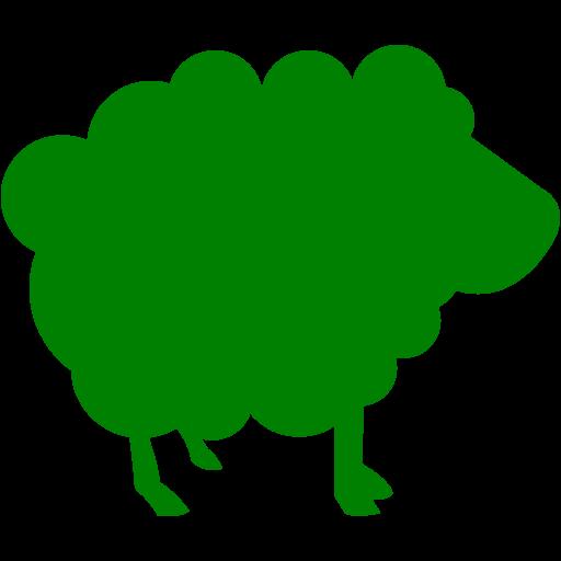 Green Sheep Icon