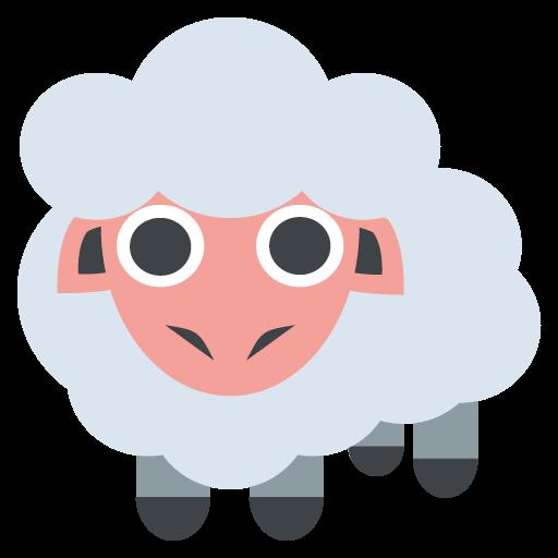 Sheep Emoji Vector Icon Free Download Vector Logos Art Graphics