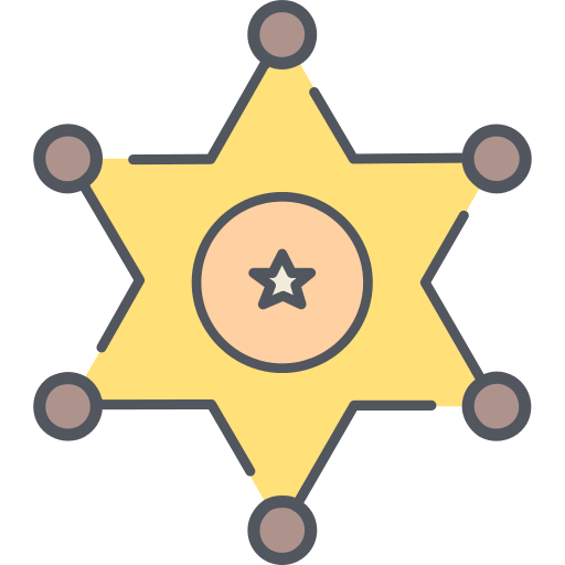 Sheriff Police Png Icon