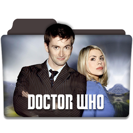 Doctor Who Tv Series Folder Icon