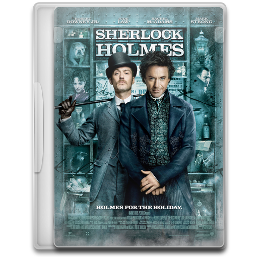 Covers, Cover, Sherlock, Holmes, Movie Icon Free Of Movie Mega