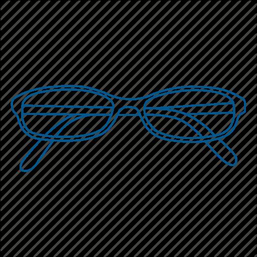 Glasses, Prescription, Read, Reading, Vision Icon