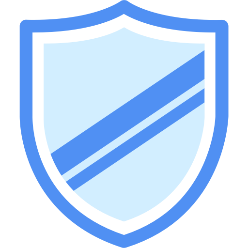 Security Shield, Multicolor, Simple Icon With Png And Vector