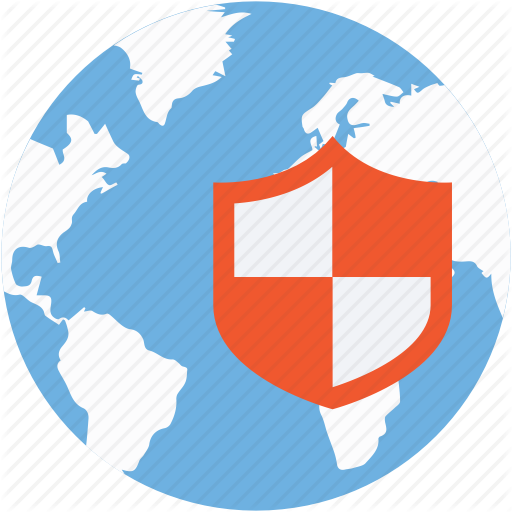 Cyber Security, Internet Security, Shield, Web Security, Website Icon