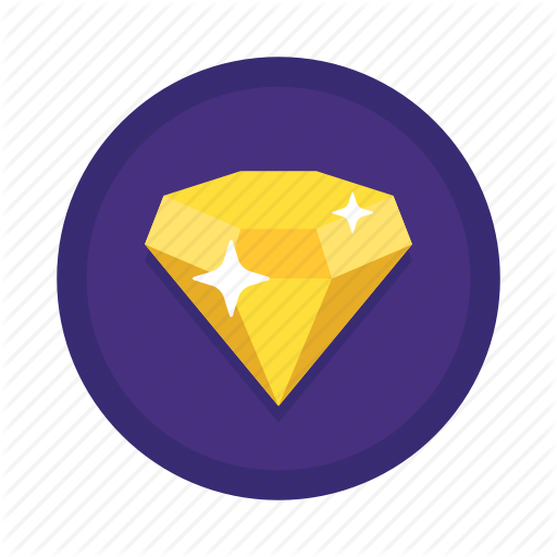 Diamond, Diamond Reputation, Reputation, Shiny Icon