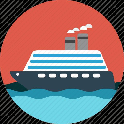Boat, Cruise, Ocean, Sea, Ship Icon