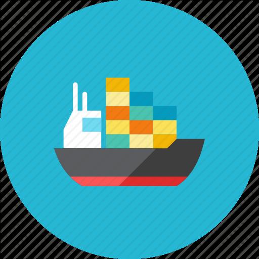 Container, Ship Icon