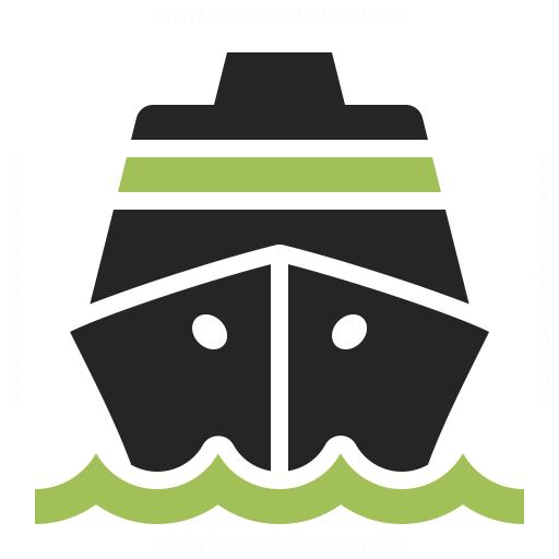 Cruise Ship Icon Iconexperience