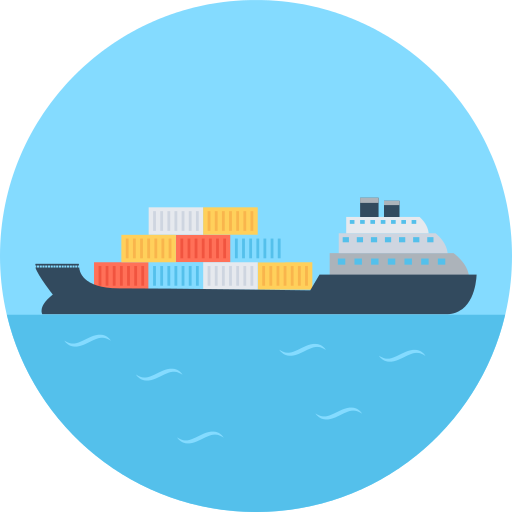 Cargo Ship Boat Png Icon