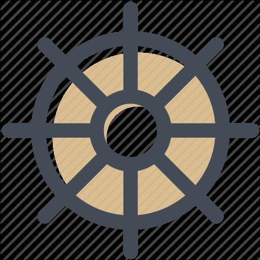 Hotel, Sailor, Ship, Ship Wheel, Steering, Steering Wheel Icon