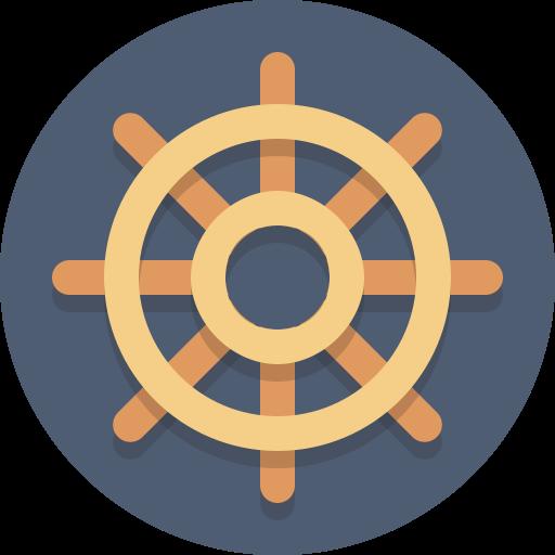 Steering Wheel, Wheel Icon