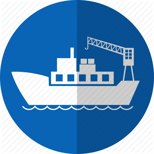 Container Ship Icon Images