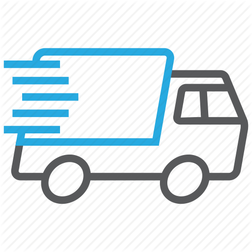 Delivery, Express, Fast, Quick, Shipping, Truck, Vehicle Icon