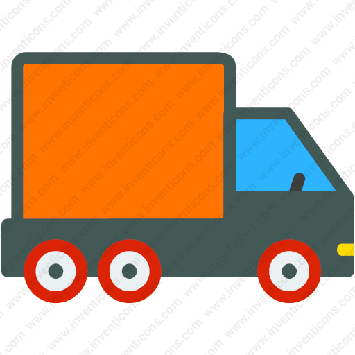 Download Shipping,truck,delivery,delivery,vehicle Icon Inventicons