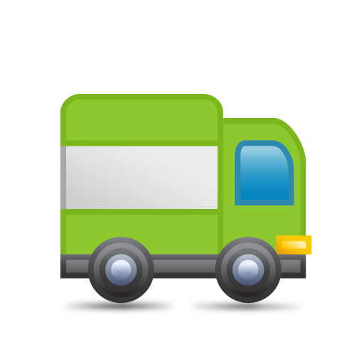 Green Truck Icon Png