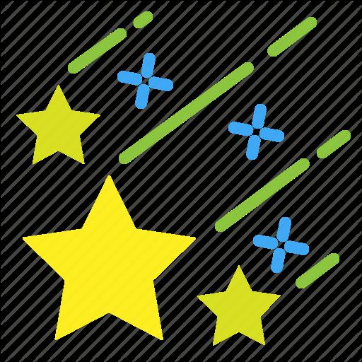 Bethlehem, Nort, Shooting, Star Icon