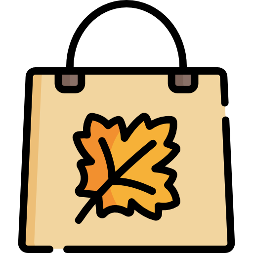 Shopping Bag Icon Autumn Freepik Freepik