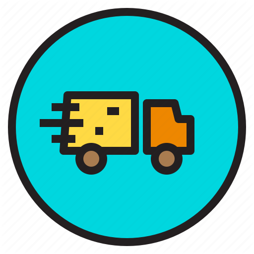 Car, Delivery, Fast, Shopping Icon