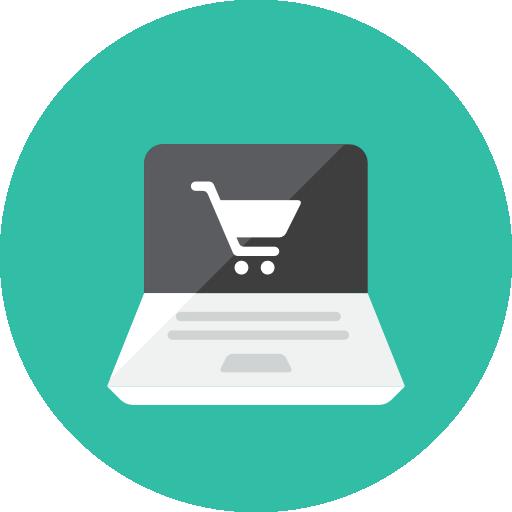 Online Shopping Icon Kameleon Iconset Webalys