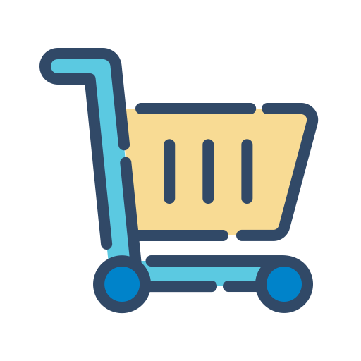 Trolley, Cart, Shopping, E Commerce Icon Free Of Shopping