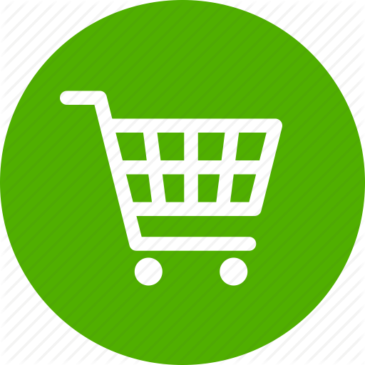 Buy, Cart, Circle, Ecommerce, Green, Shopping, Trolley Icon