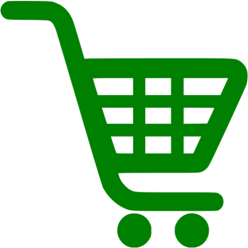Green Shopping Cart Icon