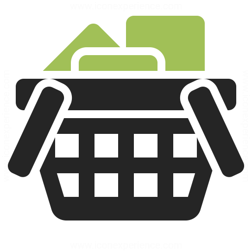 Shopping Basket Full Icon Iconexperience