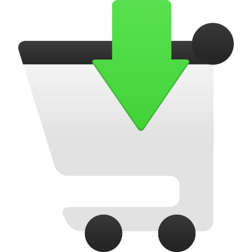 Shopping Cart Insert Icon Flatastic Iconset Custom Icon Design