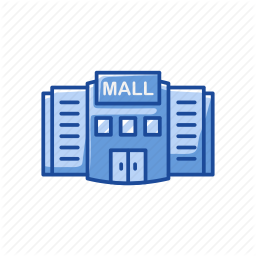 Building, Mall, Shopping Center, Shopping Mall Icon