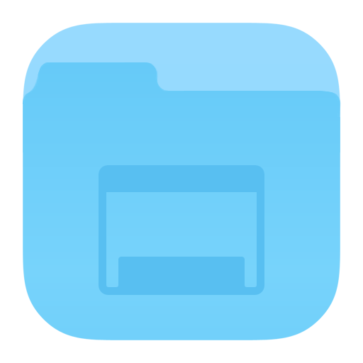 Folder Desktop Icon Ios Iconset Dtafalonso