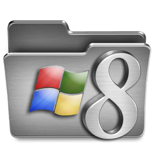 Windows Icon Steel System Iconset