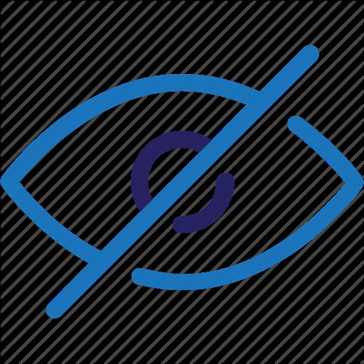 Eye, Hidden, Interface, Ui, User Interface, Ux, Web Icon