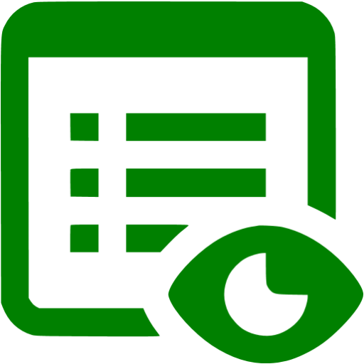 Green Show Property Icon