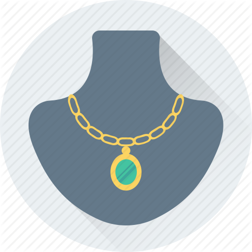 Jewellery Display, Jewelry, Jewelry Showcase, Necklace, Showcase Icon