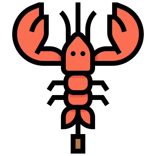 Animal, Marine, Prawn, Seafood, Shrimp Icon Free Of Street Food