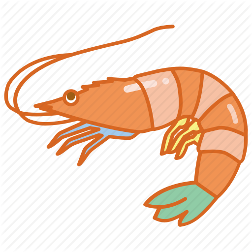 Crustacean, Fish, Market, Ocean, Prawn, Seafood, Shrimp Icon