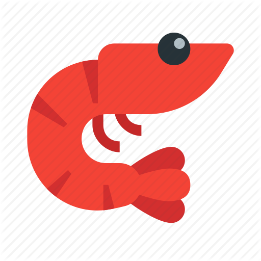 Food, Gastronomy, Ocean, Prawn, Seafood, Shrimp, Sushi Icon