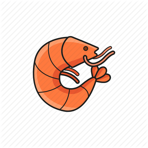 Food, Prawn, Seafood, Shrimp, Shrimp Icon Icon Icon