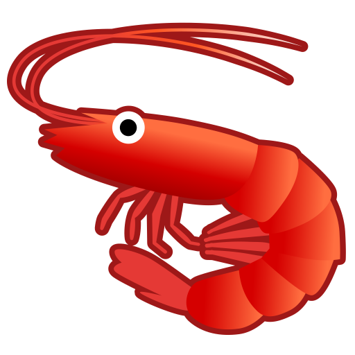 Shrimp Icon Noto Emoji Animals Nature Iconset Google