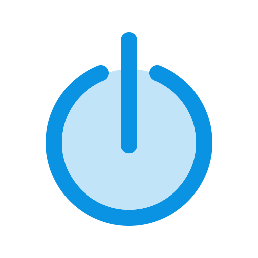 Power Off, Shutdown, Standby Icon