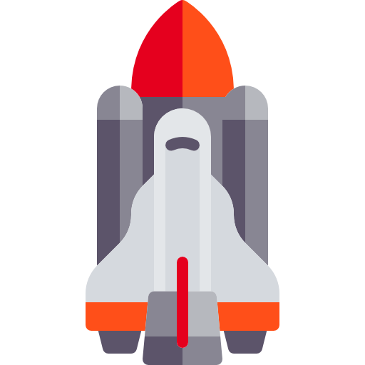 Space, Transport, Galaxy, Space Shuttle Icon