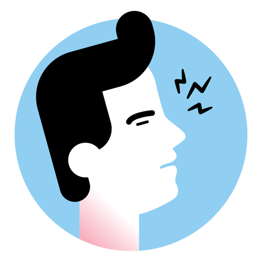 Sore Throat Sickness Symptom Icon