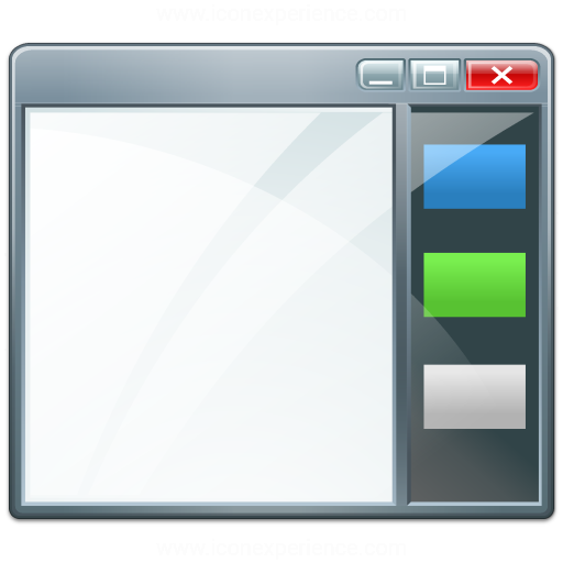 Iconexperience V Collection Window Sidebar Icon