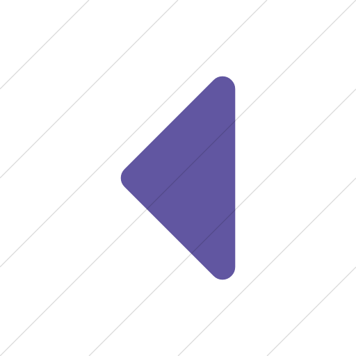 Simple Purple Bootstrap Font Awesome Caret Left Icon