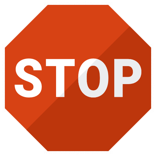 Iconexperience G Collection Sign Stop Icon